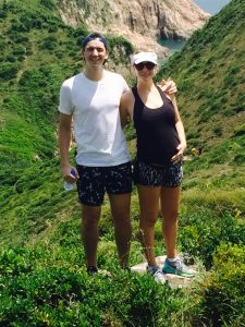 Tara Loader-Wilkinson and her husband