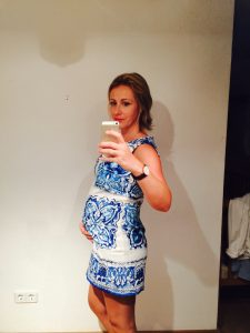 Tara Loader-Wilkinson is now 20 weeks pregnant