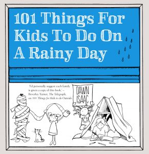 101 Things for Kids to do on a Rainy Day Front Cover