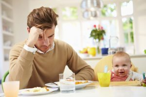 Men can suffer too after the birth of a child, says Mark Williams, founder of Dads Matter UK.