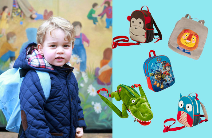 How to rock the Prince George backpack