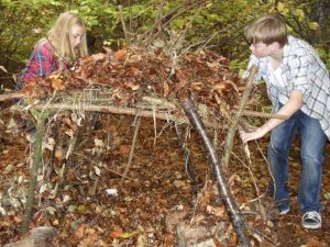Calcot manor den making