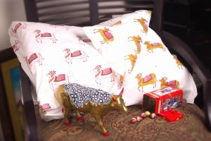 Holy Cow quilt cover