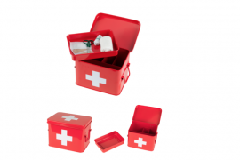 First Aid tin available for £20 at www.iwmshop.org.uk