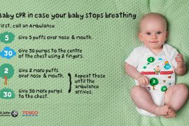 New babygro teaches parents CPR