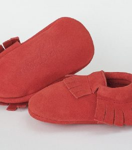 Why not toddle around in some fringed moccasins?