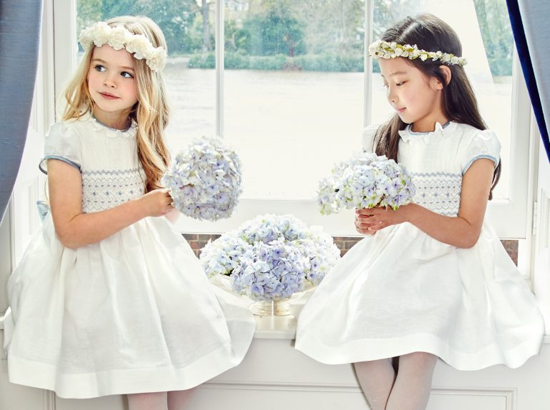 Where to buy pippa middleton 39 s bridesmaid and pageboy for Pippa middleton wedding dress buy