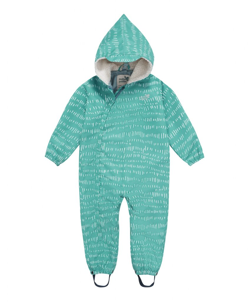 3 in 1 Scampsuit, Baltic White, £75 from muddypuddles.com