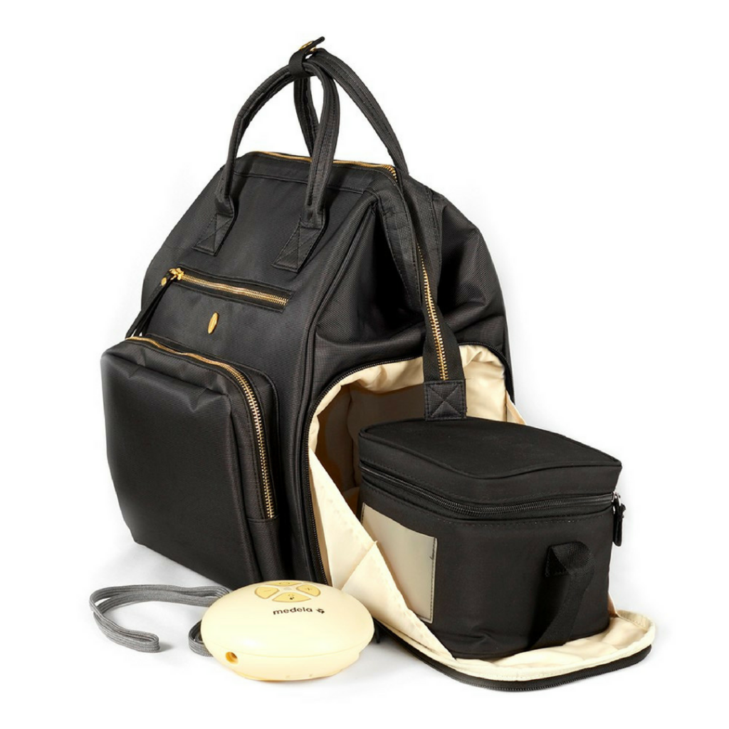 Chertsey, a breast pump backpack