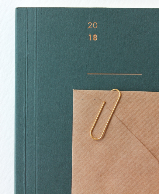Mark + Fold 2018 diary