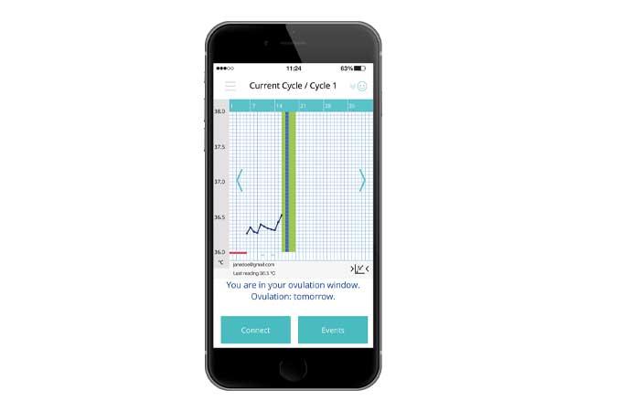 Ovusense ovulation monitor
