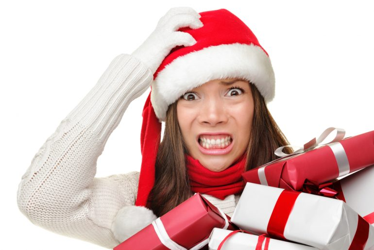 Down with Christmas stress...