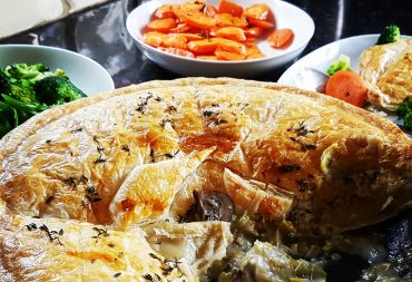 Chicken pie is the best in cold weather