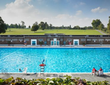 The lido at Brockwell Park is just one of many attractions there