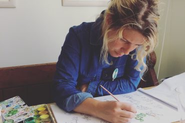 Catriona Tyrwhitt is a full time mother and illustrator